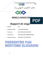 rapport de stage EL KHADRI MERYEME