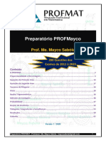 Preparatório PROFMAT 2021