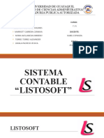 SISTEMA CONTABLE LISTOSOFT 7 -6