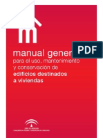 Manual General para Uso, Mantenimiento y Conservación