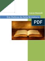 Em Defesa Da Sola Scriptura
