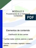 MODULO #3 Clasificacion de Cuentas Por La Estruura