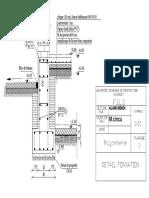 PLAN 3 Detail Fondation