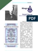 Steiner, Rudolf - Biografía