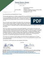 SAFE Banking Markup Letter
