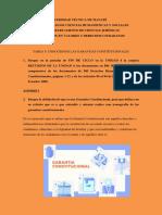 TAREA 6 CONOCIENDO LAS GARANTIAS CONSTITUCIONALES ( Carlina Guerrero )