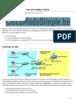 ciscomadesimple.be-Configuration du NAT sur un routeur Cisco