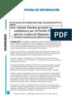 Presentacion Jose Antonio en Humanes  20-3-2011