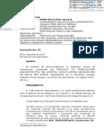 RESOLUCION 02 - ADMITIR DE DEMANDA