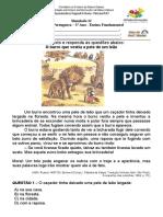 Simulado 12 (L. P - 3º Ano) - Blog do Prof. Warles