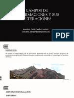 CAMPOS DE DEFORMACIONES Y SUS ALTERACIONES
