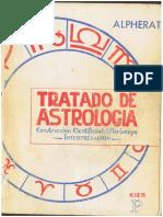 Alpherat - Tratado de Astrologia (construccion cientifica del horoscopo)