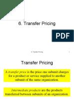 6. Transfer Pricing