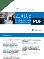 Chapitre 00 - Installation Et Configuration deWindows Server 2012