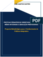 PRÁTICAS PEDAGÓGICAS ORIENTADAS AO ENSINO MÉDIO INTEGRADO À EDUCAÇÃO PROFISSIONAL -PROPOSTA METODOLÓGICA PARA O FORTALECIMENTO DE PRÁTICAS INTEGRADORAS