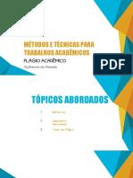 MTTA - Plágio Acadêmico