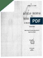 Batallas Decisivas Del Mundo Occidental (Tomo III) - Fuller