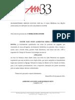 Apelação - Center Fast Food x CAIXA - 0810066-20.2018.4.05.8400