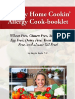 Pock, Angela - Healthy Home Cookin' Allergy Cook-booklet, 2d ed.