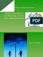 SESIÓN N° 14 DERECHOS DE LA MUJER, DEL NIÑO Y EL ADOLESCENTE.pptx