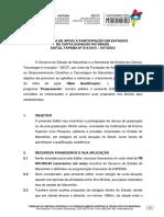 Edital Fapema Nº 014-2015 ESTAGIO