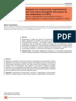 A investigação em comunicação organizacional no Brasil