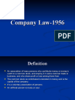 Company Law-1956
