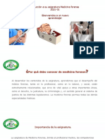 Inducción Medicina forense