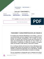 Roles del administrador.pdf - FUNCIONES Y CARACTER_u00cdSTICAS DE LOS ROLES DEL ADMINISTRADOR El modelo que presenta Mintzberg en sus libros y que nosotros _ Course Hero