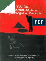 Teorías en la Práctica de la Arqueología en Colombia