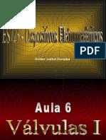 Aula 06 – Válvulas I