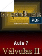 Aula 07 – Válvulas I I
