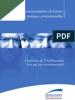 Recommandations de bonnes pratiques professionnelles. Les attentes de la personne et le projet personnalisé.