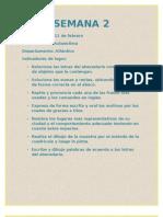 Diario de Campo Semana 2