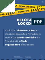 Lockdown Em Pelotas