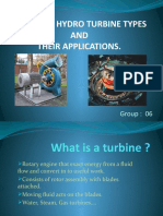 types of hydro turbines