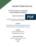EUTANASIA FRENTE AL DERECHO A LA VIDA 030621