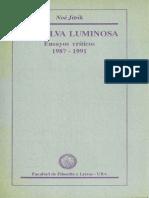 Jitrik - La Selva Luminosa Ensayos Criticos 1987-1991