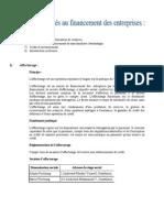 Les lignes de financement d'une entreprise marocaine