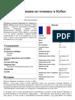 Сборная Франции по теннису в Кубке Дэвиса — Википедия
