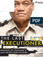 The Last Executioner - Chavoret Jaruboon With Nicola Pierce