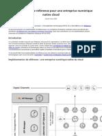 Implémentation de Référence Pour Une Entreprise Numérique Native Cloud