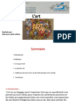 Presentation l'art