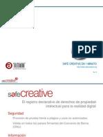 Safe Creative en 1 minuto