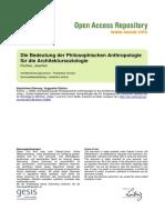 Ssoar-2006-Fischer-die Bedeutung Der Philosophischen Anthropologie.pdf;Jsessionid=9AB4638CA559C17F082B7D85F807D36D