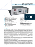 4912 - Autocompute LCR-Q Meter Sorter