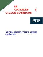 Rene Guenon-Formas Tradicionales y Ciclos Cosmicos