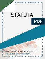 STATUTA-STKIP-PGRI-BANGKALAN-2019