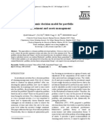 A dynamic decision model for portfolio investment and assets management