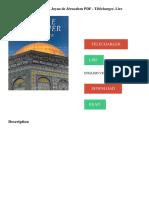 LE DOME DU ROCHER. Joyau de Jérusalem PDF - Télécharger, Lire TÉLÉCHARGER LIRE ENGLISH VERSION DOWNLOAD READ. Description